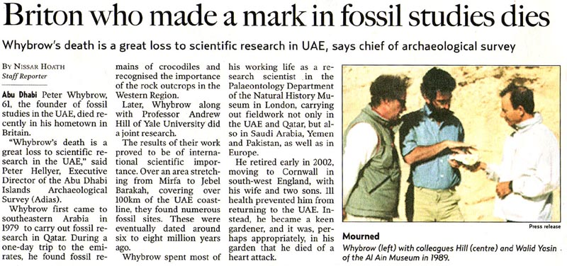 Gulf News, 20 February 2004